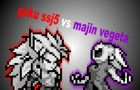 goku ssj5 vs majin vegeta by spriter500