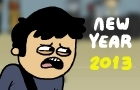 New Year 2013 by LazyMuffin