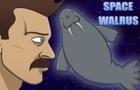 SPACE WALRUS by Sexual-Lobster
