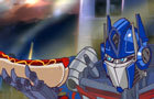 Optimus Eats A HotDog by MindChamber