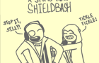 A Stupid Video:shieldbash