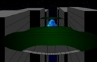 Blue alien, Blue laser
