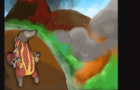 Quest for Magma Mountain by chibixi