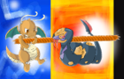 Pokemon Tug Of War by chibixi