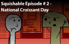 Sq.E#2: Croissant Day by nat29