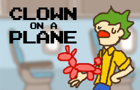 Clown On A Plane by TStoneMedia