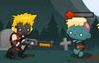 Shotgun vs Zombies by pzUH