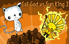 Cat God vs Sun King 2 by nerdook