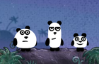 3 Pandas 2. Night by FlashTeam777