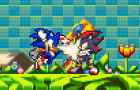 Sonic VS Shadow by SonicGokuFan4125