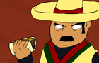 Mexican Eats a Taco by MocaNico