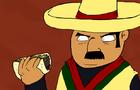 Mexican Eats a Taco