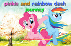 Pinkie & Rainbow Dash by madpetergame