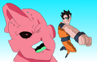 Gohan vs Kid buu