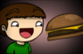 Elmer's Cheeseburger Hat