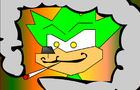 sonic the weedhog by CHEAPTOONS