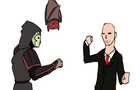 Amon vs Agent 47 by biIIgates