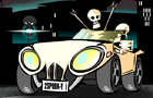 skullcar by FeixMan