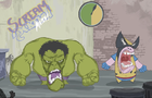 Hulk Vs Wolverine by SirDoodlez
