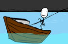 Stickman go fishing by execcton