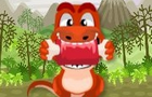 Dino Eat Meat by pkcoolgames