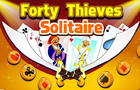Forty Thieves Solitaire by zygomaticgames