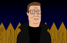 Hank Hill vampire by DFerociousbeast