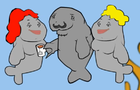 Most interesting manatee by PhantomMD