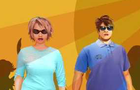 Fat Couple Dressup by onlinefunarcade