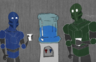 WT: Space Watercooler by Doodlesinc