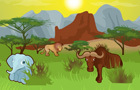 Savanna Hunting by 101cargames