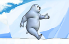 Polar Bear,Run! by guoguoflash