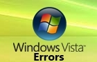 Windows Vista Errors