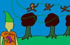 why monkeys climb
