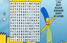 Simpsons Word search
