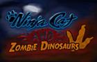 Ninja Cat and Zombie Dino