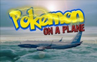 Pokemon on a plane