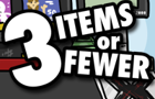 3 Items Or Fewer