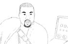Kanye West tells a joke