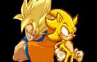Goku V.S Sonic