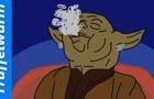 Yoda Smokes Weed