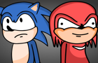 Knuckles is a Douche