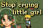 Stop crying little girl