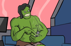HULK plays Flappy Bird