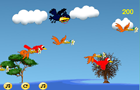 Crazy Bird Shooter Flash