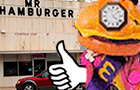 Mr. HamburgerClock TV Ad
