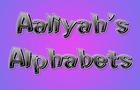 Aaliyah's Alphabets (Kids