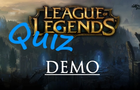 LoL Quiz S4 DEMO