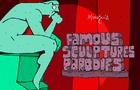 Famous Sculptures Parody