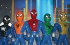 Spider-Rangers vs Alien N